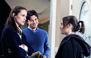 Jennifer Garner, Jason Bateman and Ellen Page in JUNO